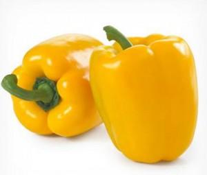 Η κίτρινη πιπεριά