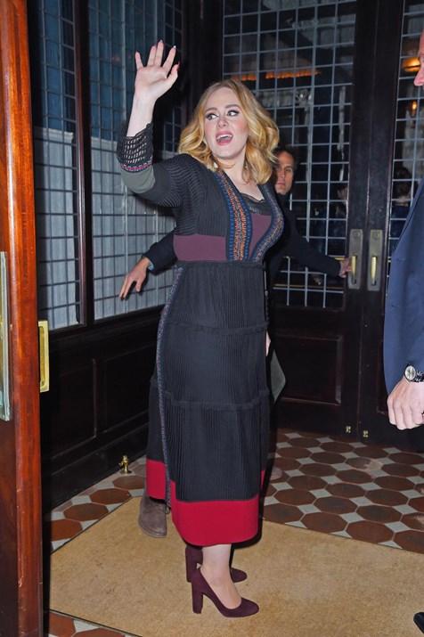 Adele μετά