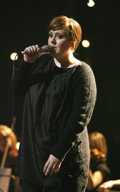 Η Adele πριν