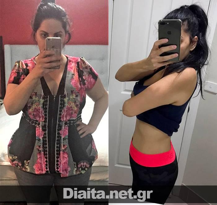 Πώς έχασα 10 κιλά - Αφροδίτη