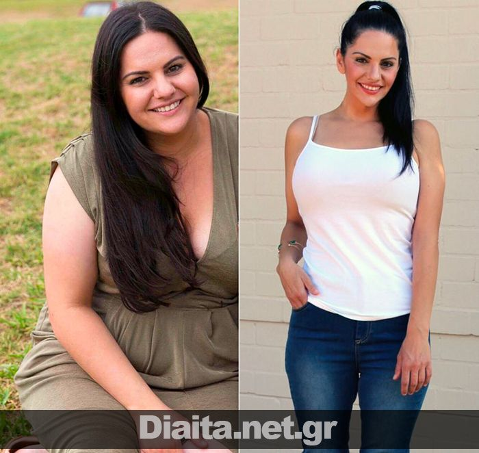 Πώς να χάσω κιλά - Αφροδίτη - Πριν και μετά